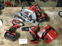 Power Tool Kit with Circular Saw