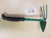 3-prong cultivator & hoe, 12""