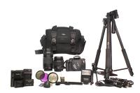 Camera Bundle - Rebel T5