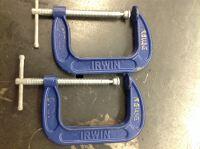 """C-clamps 4"""", pair"""