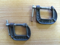 "C-clamp, 1"" (pair)"