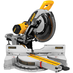 Miter saw, dual bevel compound, 12-in