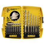 Drill bit set, 14 pc.