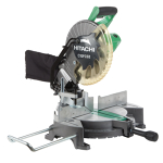 Miter saw, single bevel compound, 10-in