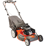Lawn mower, push, gas