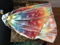 Lenny Lamb Rainbow Lace Ring Sling