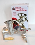 Meat Grinder, Manual, with Attachments