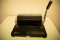 Kroužkový vazač / Binding Machine - manual /