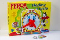 Ferda - hodiny a čísla / Ferda - clock and numbers
