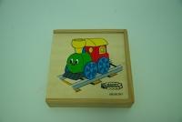 Dětské dřevěné pexeso / Children's memory game