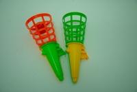Kornoutky na chytání míčků / Catchball cornets