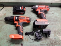 Cordless Hammer Drill and Impact Driver