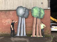 Pointilist Trees (triple set b)