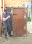 Board & Stud Door (980 x 1900mm)