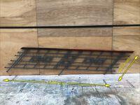Art Decco Steel handrail (3500 x 1030mm)