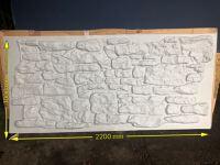 Vacform stone wall 2200x1000