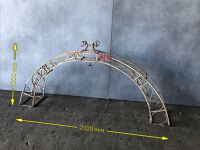 ornate metal arch