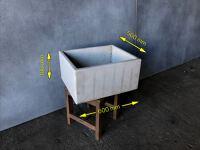 Wash house sink