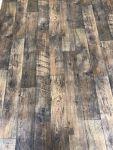 Vinyl- Dark Wood Planks