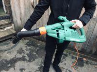 Corded Leaf Blower & Garden Vacuum