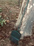 Lawn Rake with Shovel Pan