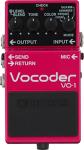 Boss VO-1 Vocoder Effect Pedal