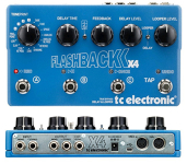 TC Electronics Flashback X4 Delay and Looper Pedal