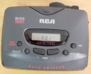 RCA AM/FM Stereo Cassette Player
