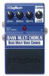 DigiTech Bass Multi Chorus Effect Pedal