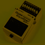 Boss GEB-7 Bass Equalizer Effect Pedal