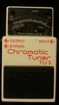 Boss TU-3 Chromatic Tuner Effect Pedal