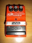 DOD FX80-B Compressor Sustainer Effect Pedal