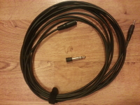 "Radio Shack 1/8"" Female to 1/8"" TRS Male Cable"