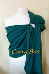 Carry Boo Muslin Ring Sling - Teal
