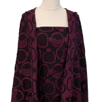 Yaro Slings Pomegranate Cassis-Black Wool Wrap Size 6