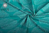 Diva Milano Essenza Woven Wrap Size 6, Smeraldo