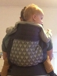 Babyhawk Oh Mei - Half Buckle Toddler Size, Arrows