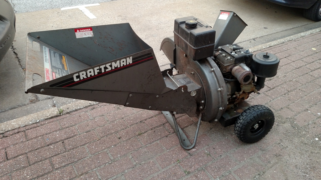Carbondale Tool Library Wood Chipper Shredder 8 Hp