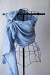 SBP Slate Blue Linen Pleated