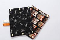 Suck Pads - Skeletons/owls reversible