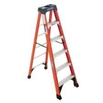 10ft Fiberglass A-Frame Ladder