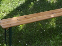 gasilske mize in klopi / folding tabels and benches