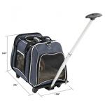 Petsfit transport d'animaux avec roues amovibles