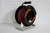 Enrouleur noir & orange