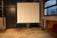 Ecran de projection à rouleau,160cm/160cm