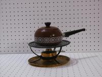 Caquelon à fondue chinoise & réchaud