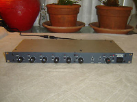 Biamp Advantage 601e, 6 Channel Mic / Line Mixer, with Eq and Limiter, Rack