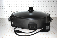 Electric pan grill/poêle