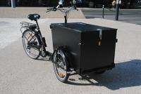 Vélo cargo électrique