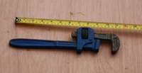 Adjustable pipe wrench